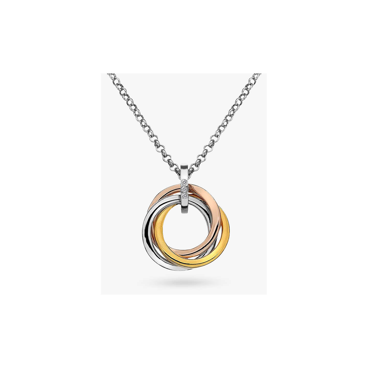product necklace circle ring b secrets tfn by vintage