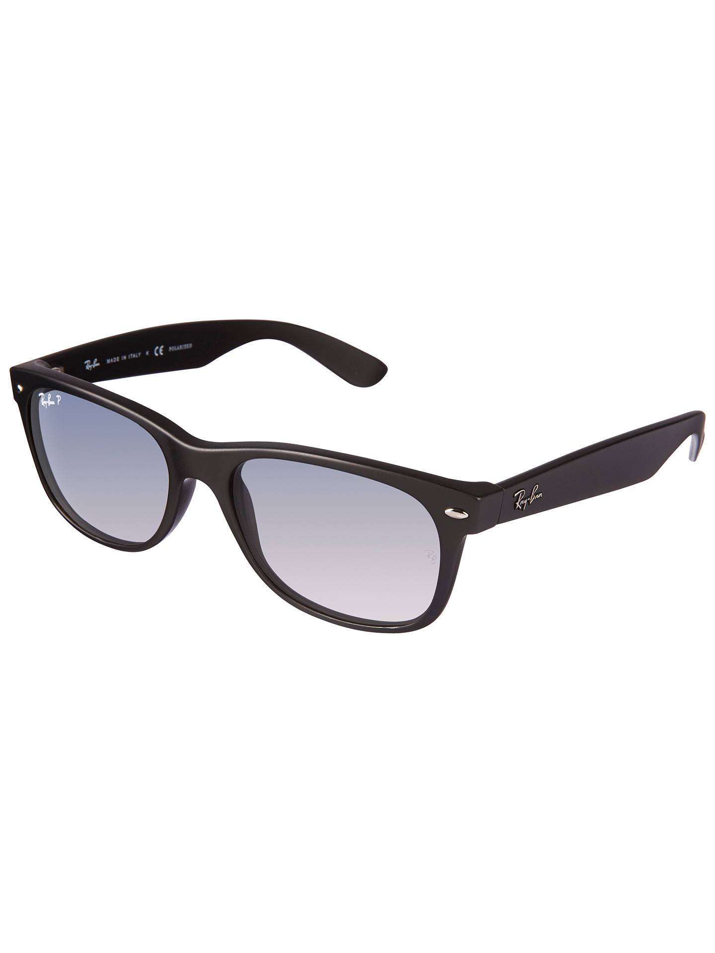 18b7cc87f9 Ray-Ban RB2132 New Wayfarer Polarised Sunglasses at John Lewis ...