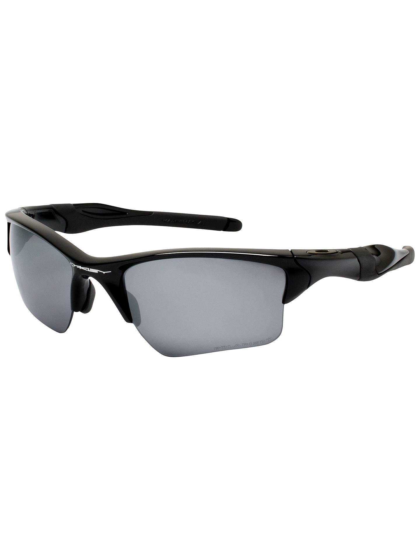 Oakley Half Jacket 2 0 Xl >> Oakley Oo9154 Half Jacket 2 0xl Rectangular Polarised Sunglasses Polished Black