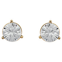 Buy Cachet Swarovski Crystal Solitare Stud Earrings Online at johnlewis.com
