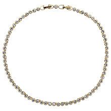 Buy Cachet Swarovski Crystal Tennis Necklace Online at johnlewis.com