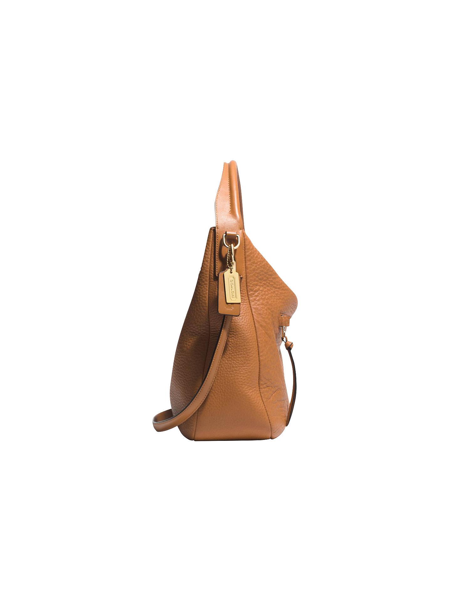 5f97aa4aff ... Buy Coach Bleecker Sullivan Pebbled Leather Hobo Bag