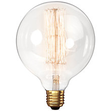 Buy Calex 60W ES Filament Decorative Bulb, Clear Online at johnlewis.com