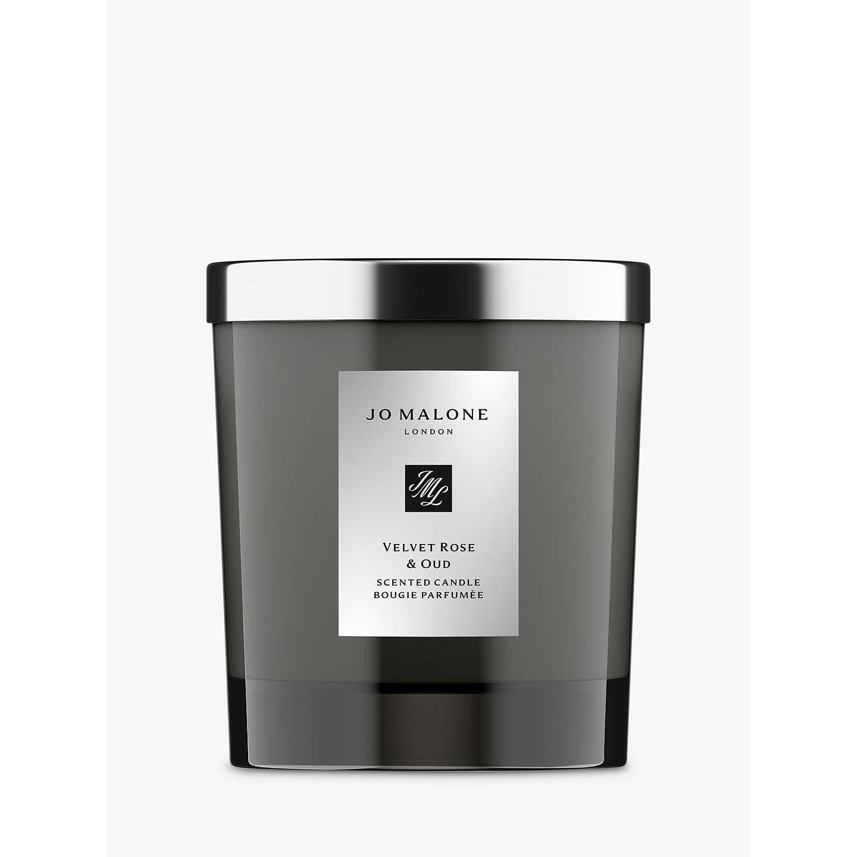 jo malone london candle intense velvet rose oud 200g at john lewis. Black Bedroom Furniture Sets. Home Design Ideas