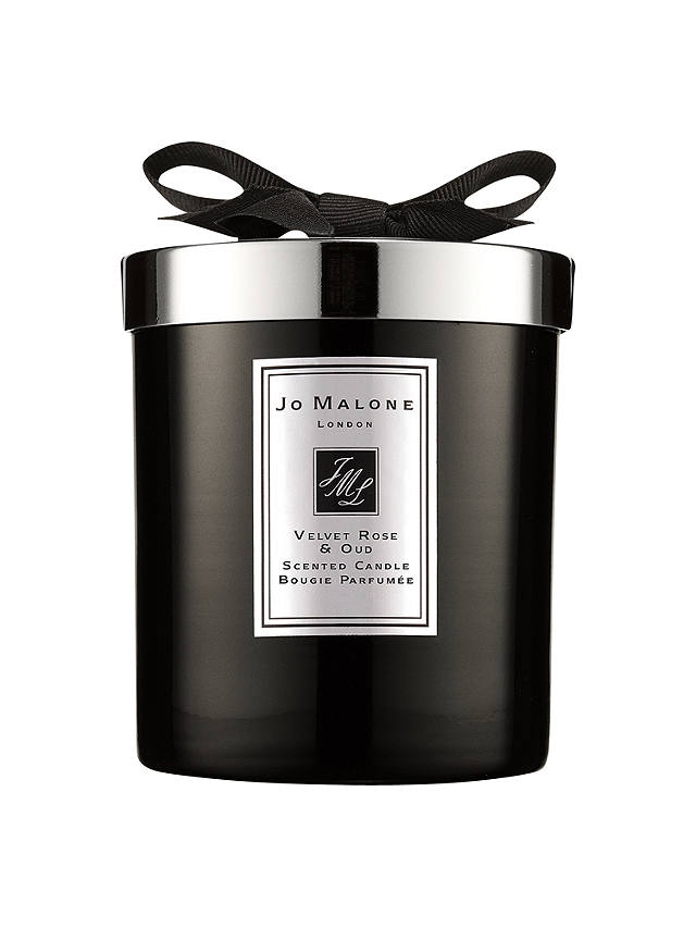 Buy Jo Malone London Velvet Rose & Oud Scented Candle Intense, 200g Online at johnlewis.com