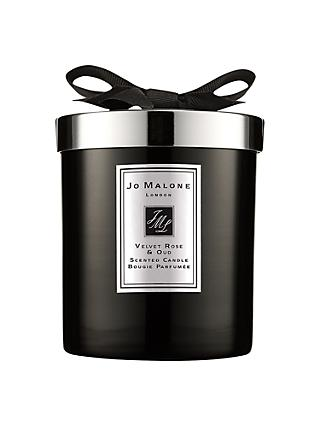 Jo Malone London Scented Candle Intense Velvet Rose & Oud, 200g