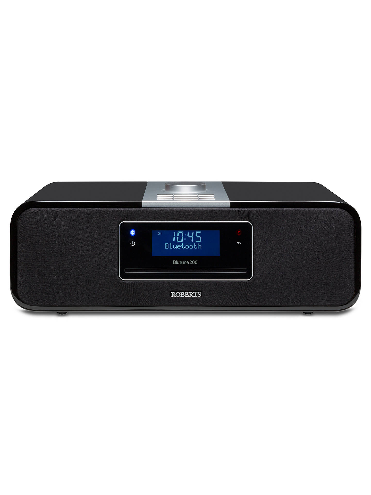 BuyROBERTS Blutune 200 DAB/FM/CD Bluetooth Radio, Gloss Black Online at johnlewis.com