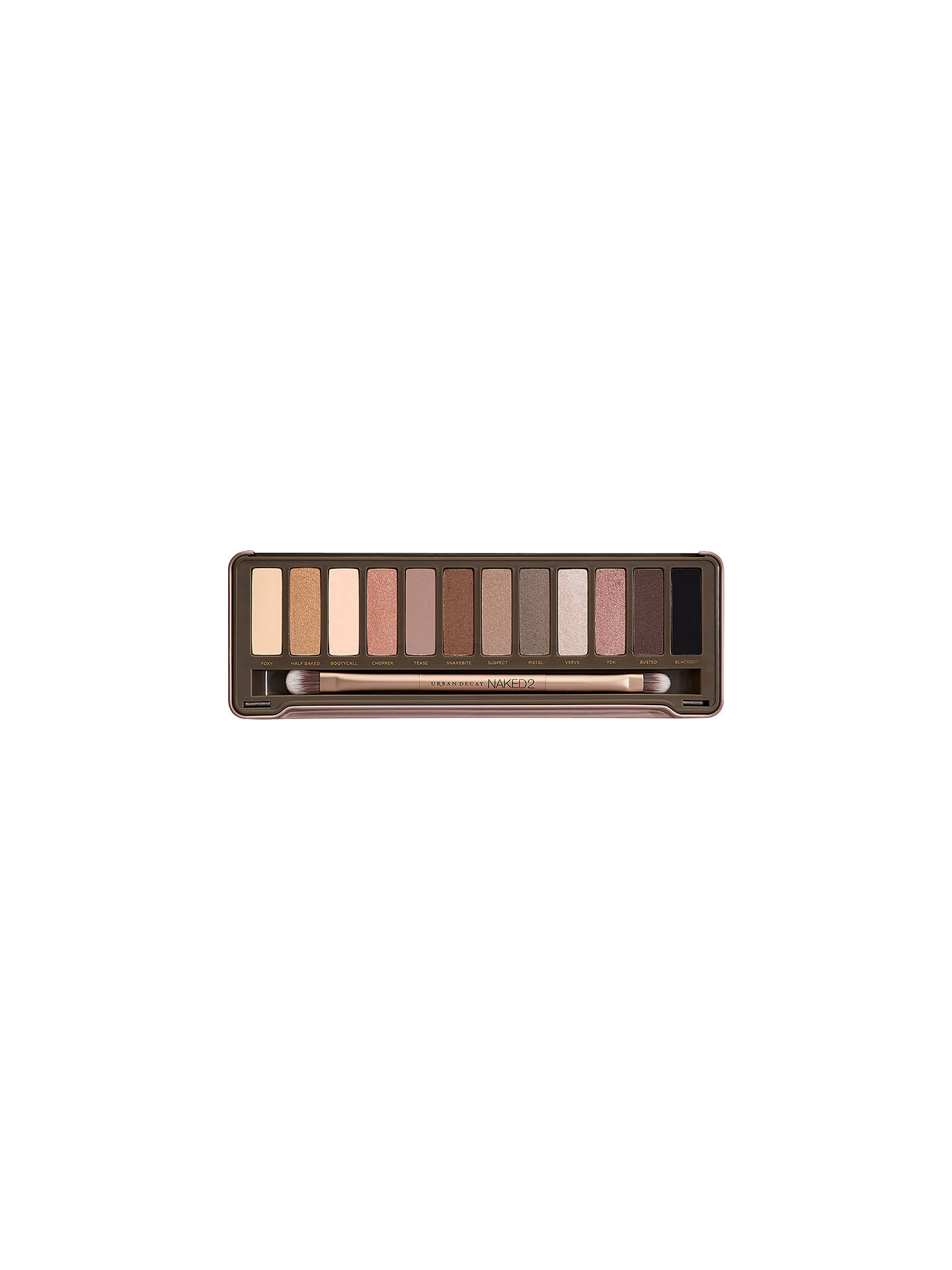 Buy Urban Decay Eyeshadow Palette, Naked 2 Online at johnlewis.com