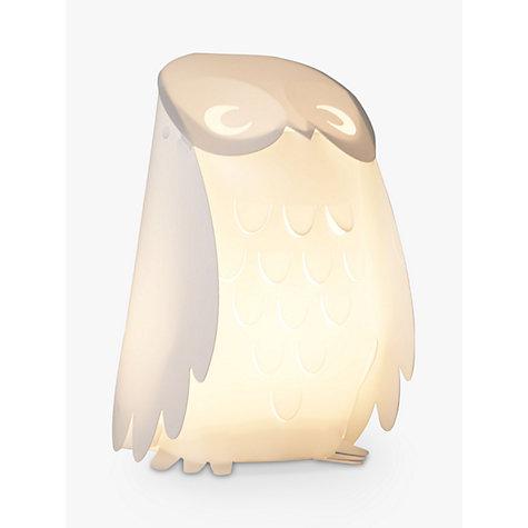 buy little home at john lewis animal fun owl table lamp online at johnlewis
