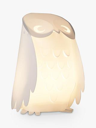 little home at John Lewis Animal Fun Owl Children's Table Lamp