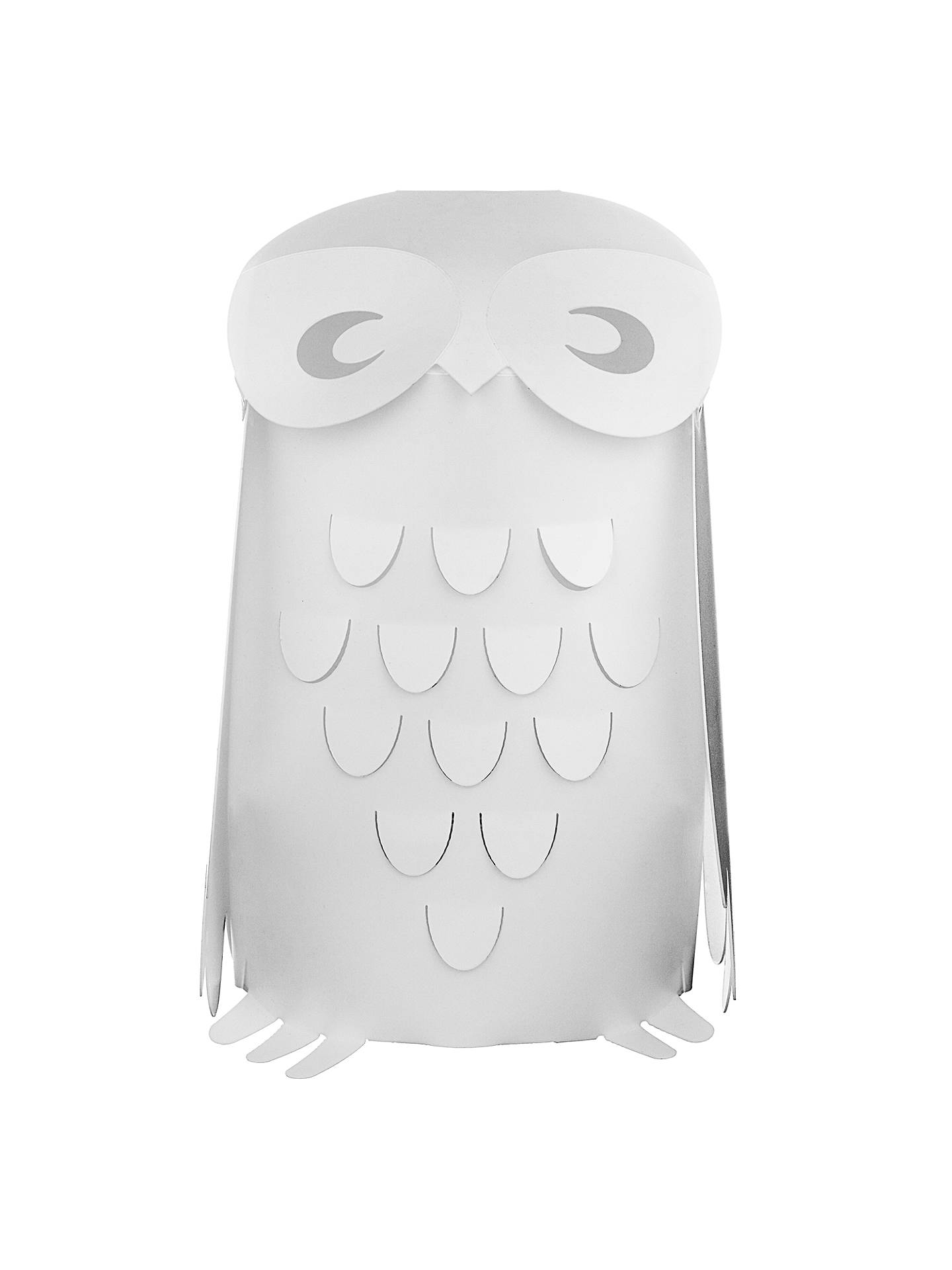Buylittle home at John Lewis Animal Fun Owl Children's Table Lamp Online at johnlewis.com