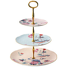 Buy Wedgwood Cukoo 3 Tier Cakestand Online at johnlewis.com