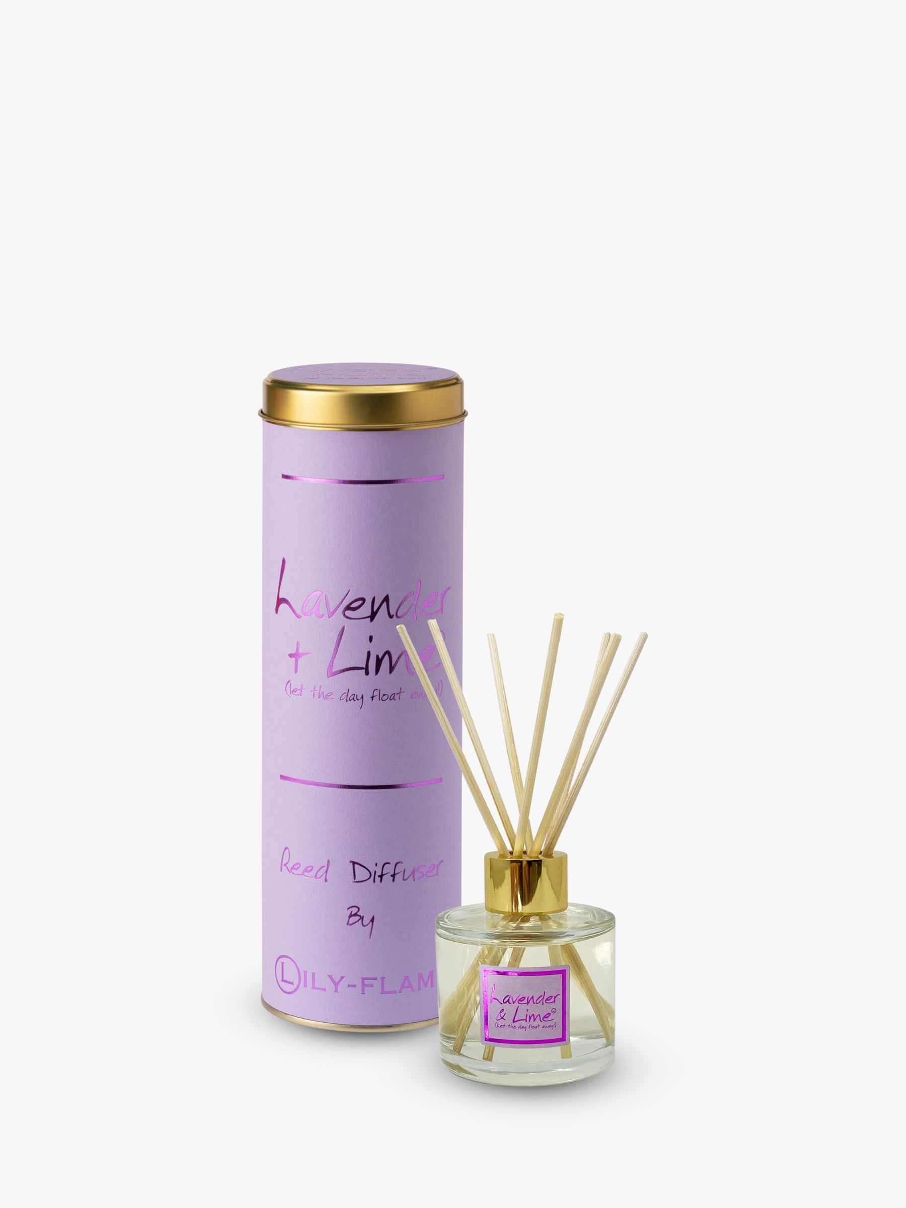 Lily-Flame Lily-flame Lavender and Lime Reed Diffuser, 100ml