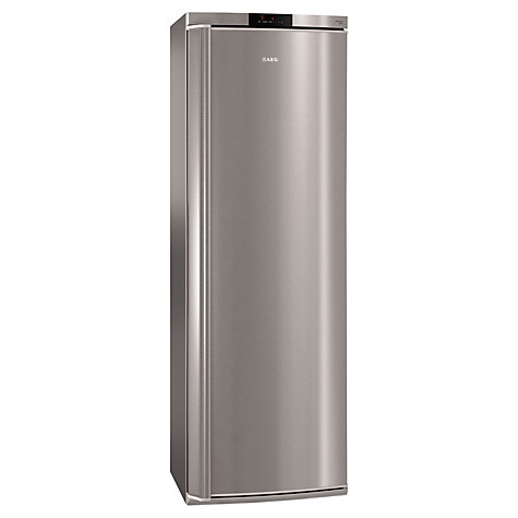 Buy AEG S74010KDX0 Tall Larder Fridge, A++ Energy Rating, 60cm Wide, Stainless Steel Online at johnlewis.com
