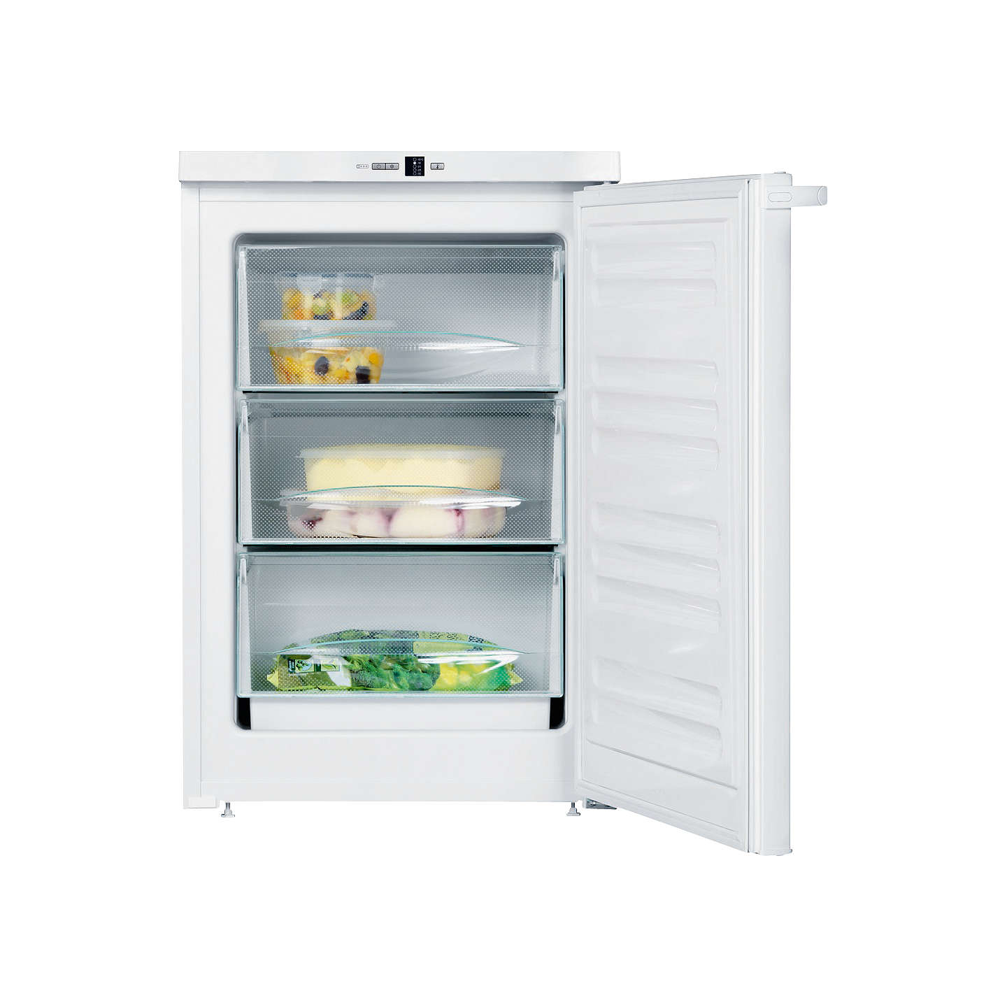 BuyMiele F12011S-1 Freezer, A+ Energy Rating, 55cm Wide, White Online at johnlewis.com