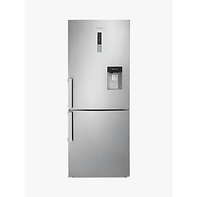 Image of Samsung RL4362FBASL Fridge Freezer, A+ Energy Rating, 70cm Wide, Stainless Steel