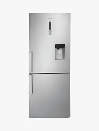 Samsung RL4362FBASL Fridge Freezer, A+ Energy Rating, 70cm Wide, Stainless Steel