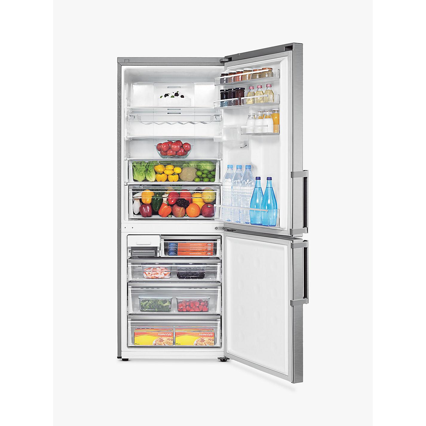 samsung fridge freezer. buy samsung rl4362fbasl fridge freezer, a+ energy rating, 70cm wide, stainless steel online freezer
