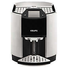Buy KRUPS EA9010 Espresseria Bean-to-Cup Coffee Machine, Silver Online at johnlewis.com