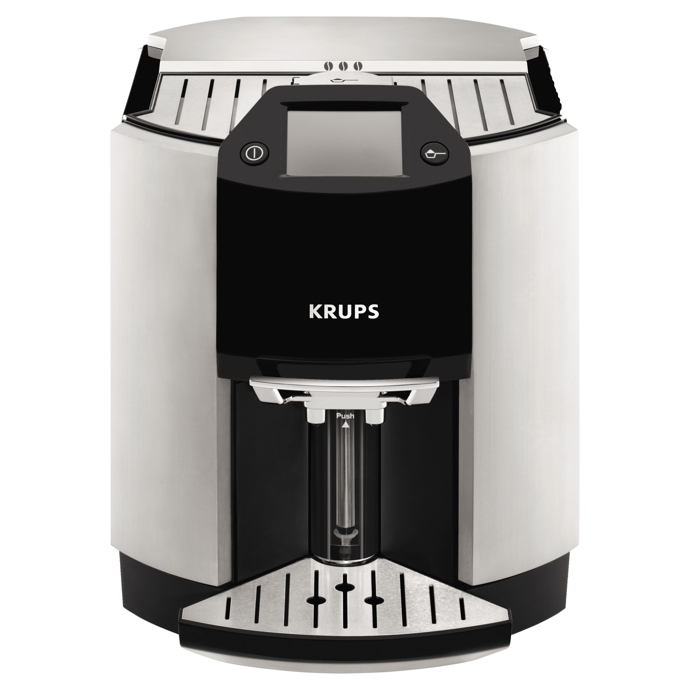 John Lewis Hob Coffee Maker : Buy KRUPS EA9010 Espresseria Bean-to-Cup Coffee Machine, Silver John Lewis