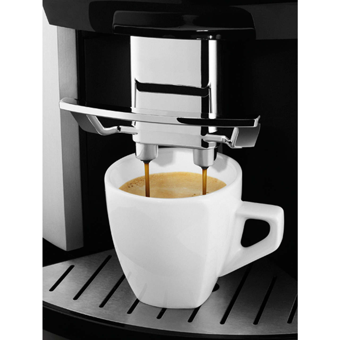 BuyKRUPS EA9010 Espresseria Bean-to-Cup Coffee Machine, Silver Online at johnlewis.com