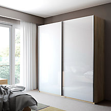 Buy John Lewis Elstra 250cm Wardrobe With Mirrored Sliding