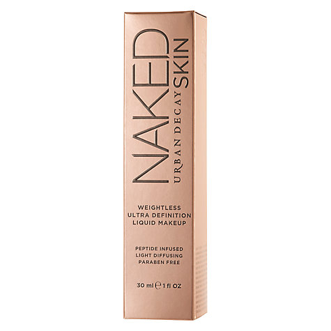 Buy Urban Decay Naked Weightless Liquid Foundation Online at johnlewis.com