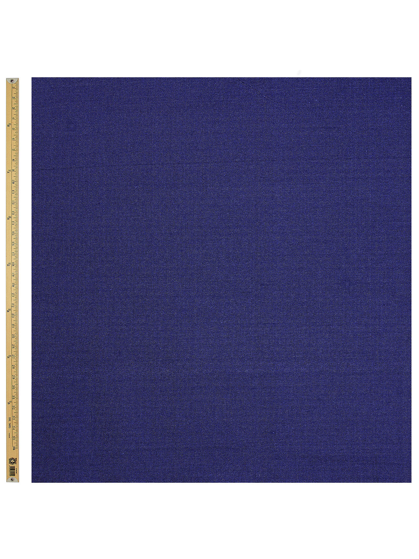 BuyJohn Lewis & Partners Silk Dupion Fashion Fabric, Midnight Blue Online at johnlewis.com