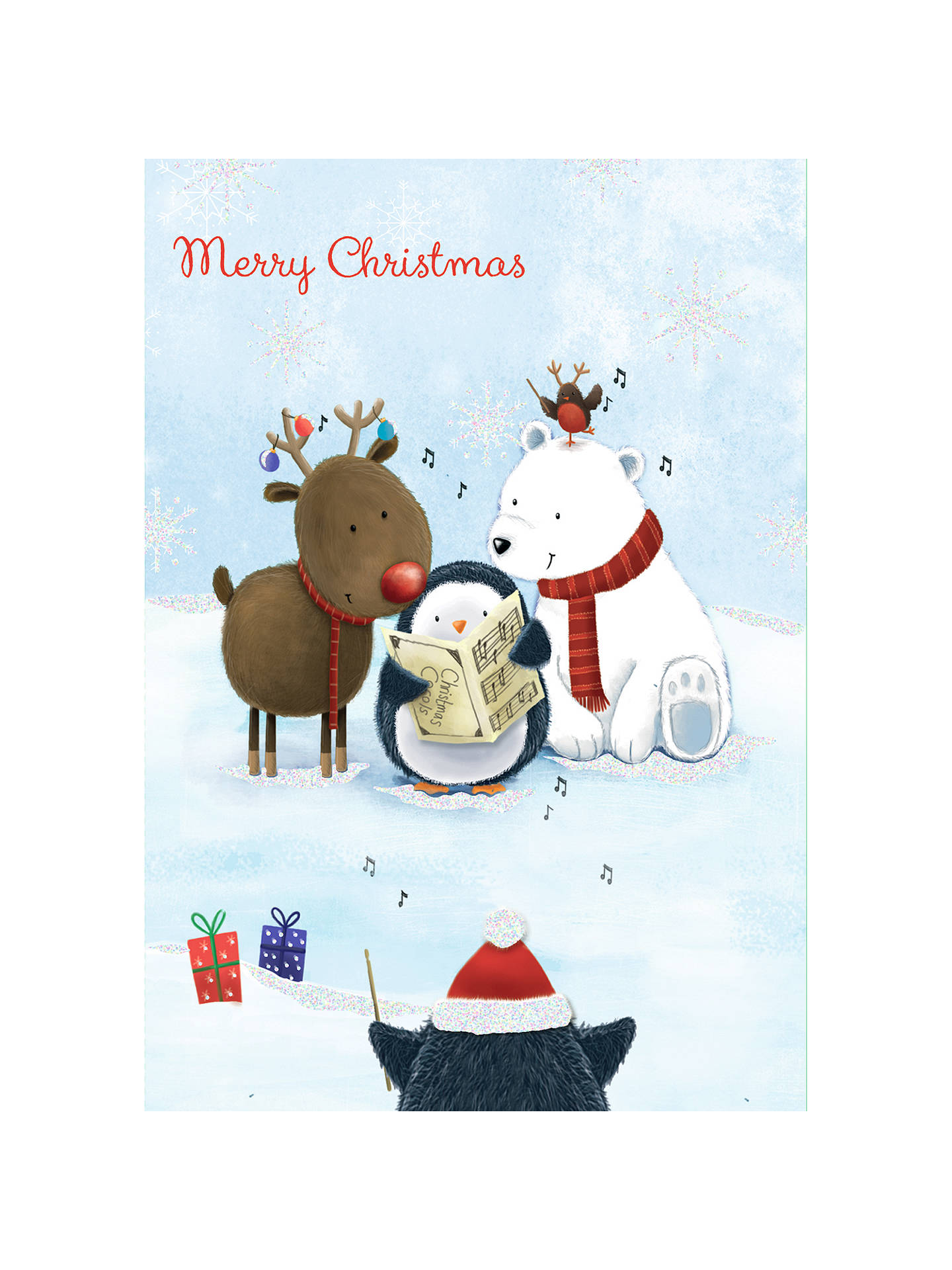 buyspecial editions animal chorus charity christmas cards box of 8 online at johnlewiscom - Animal Charity Christmas Cards