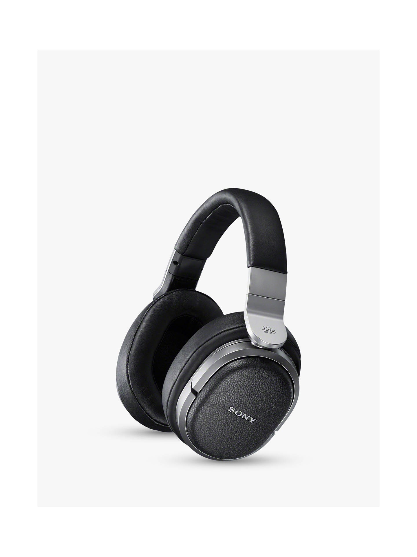 BuySony MDRHW700DS Digital Surround RF 9.1 Channel Wireless Over-Ear Headphones, Silver Online at johnlewis.com