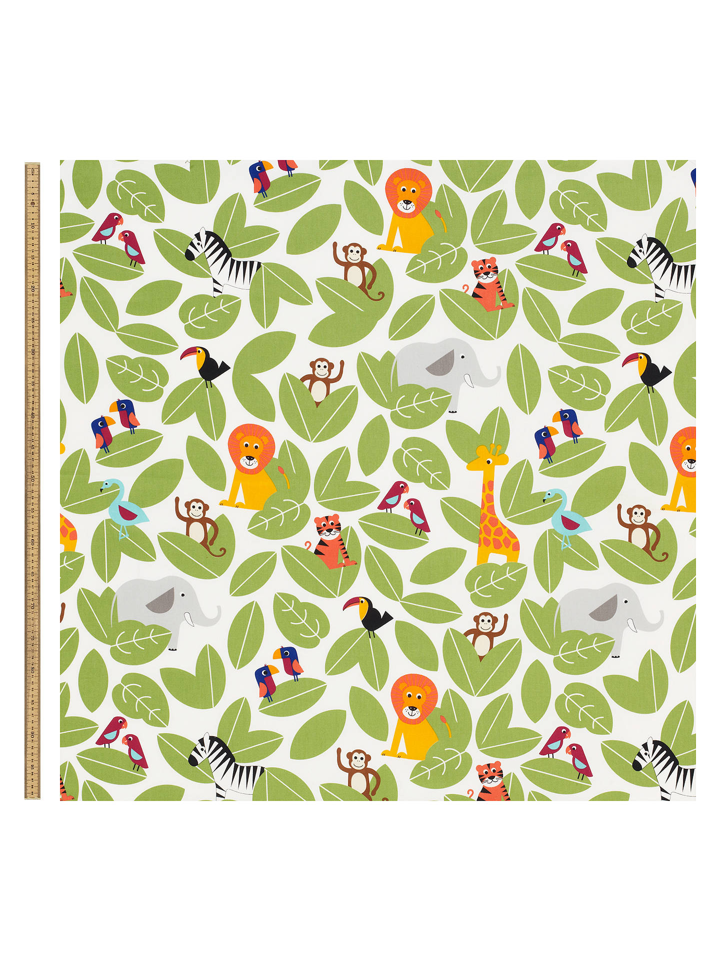 Buylittle home at John Lewis Animal Fun Furnishing Fabric Online at johnlewis.com