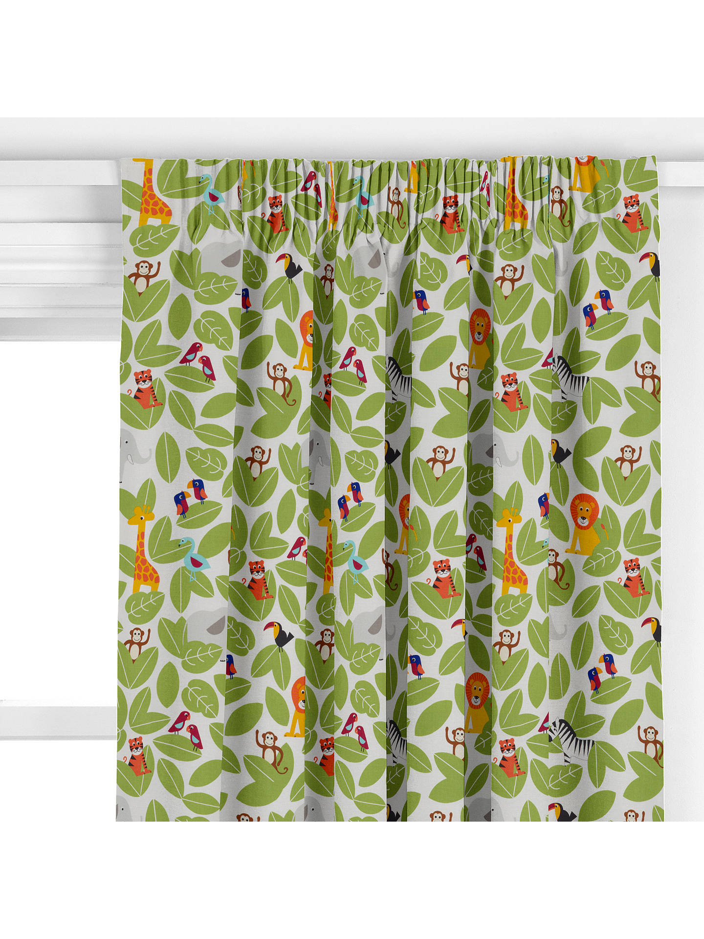 Little Home At John Lewis Partners Animal Fun Made To Measure Curtains Online Johnlewis