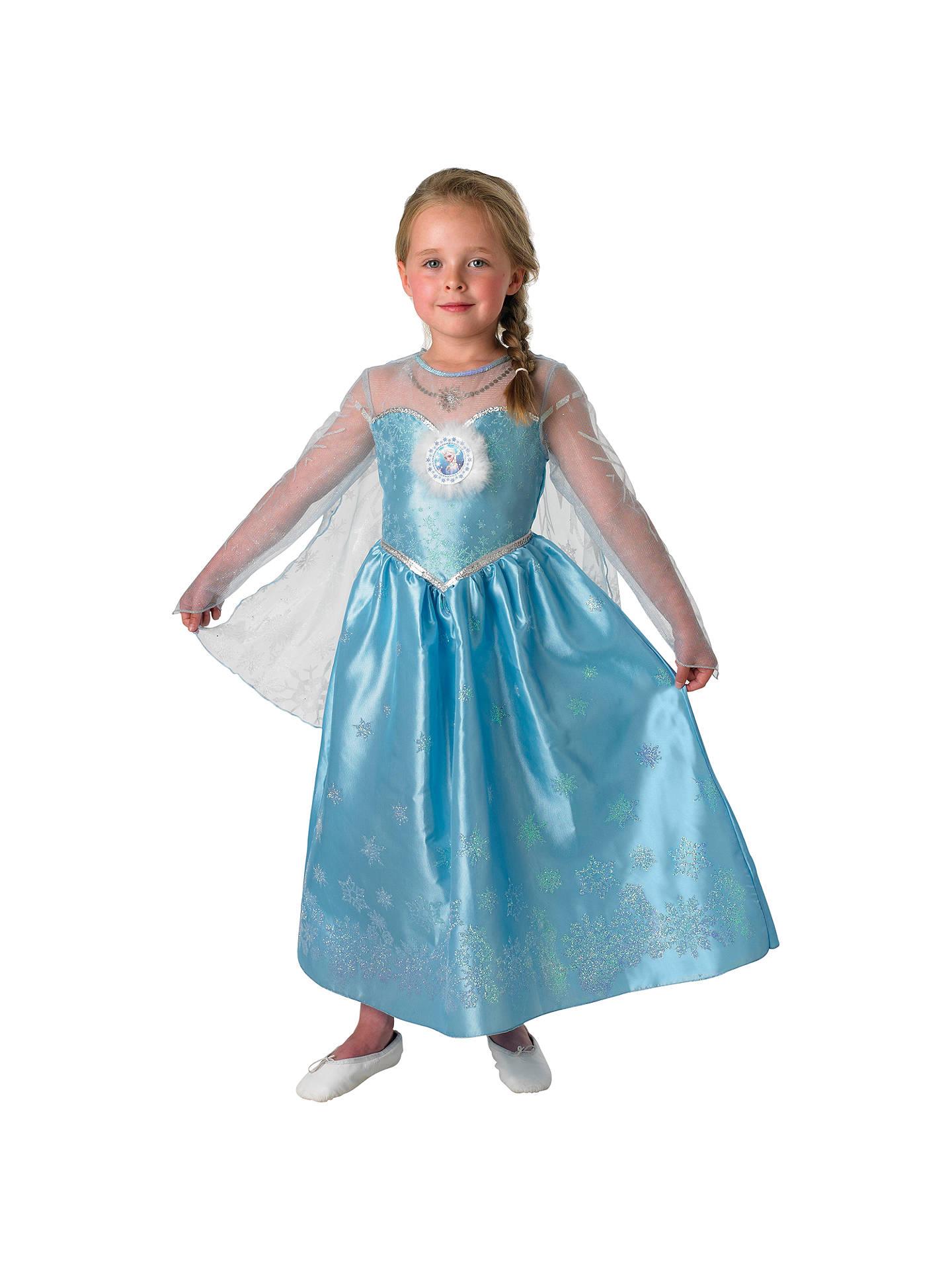 e3ebf83fd681f Disney Frozen Elsa Deluxe Dressing-Up Costume at John Lewis   Partners
