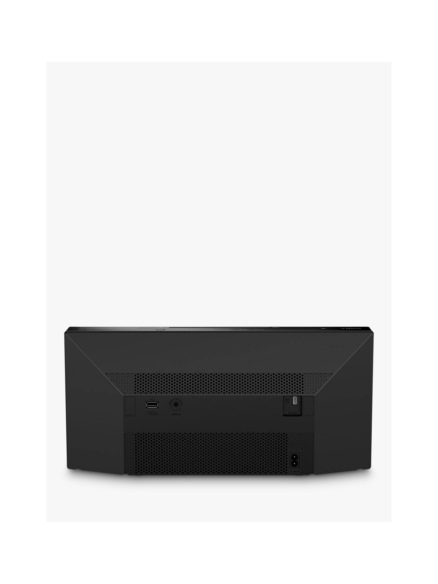 BuySony CMT-X5CDB DAB/FM/CD Bluetooth NFC Speaker Online at johnlewis.com