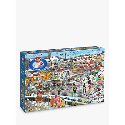Image of Gibsons I Love Winter Jigsaw Puzzle, 1000 Pieces