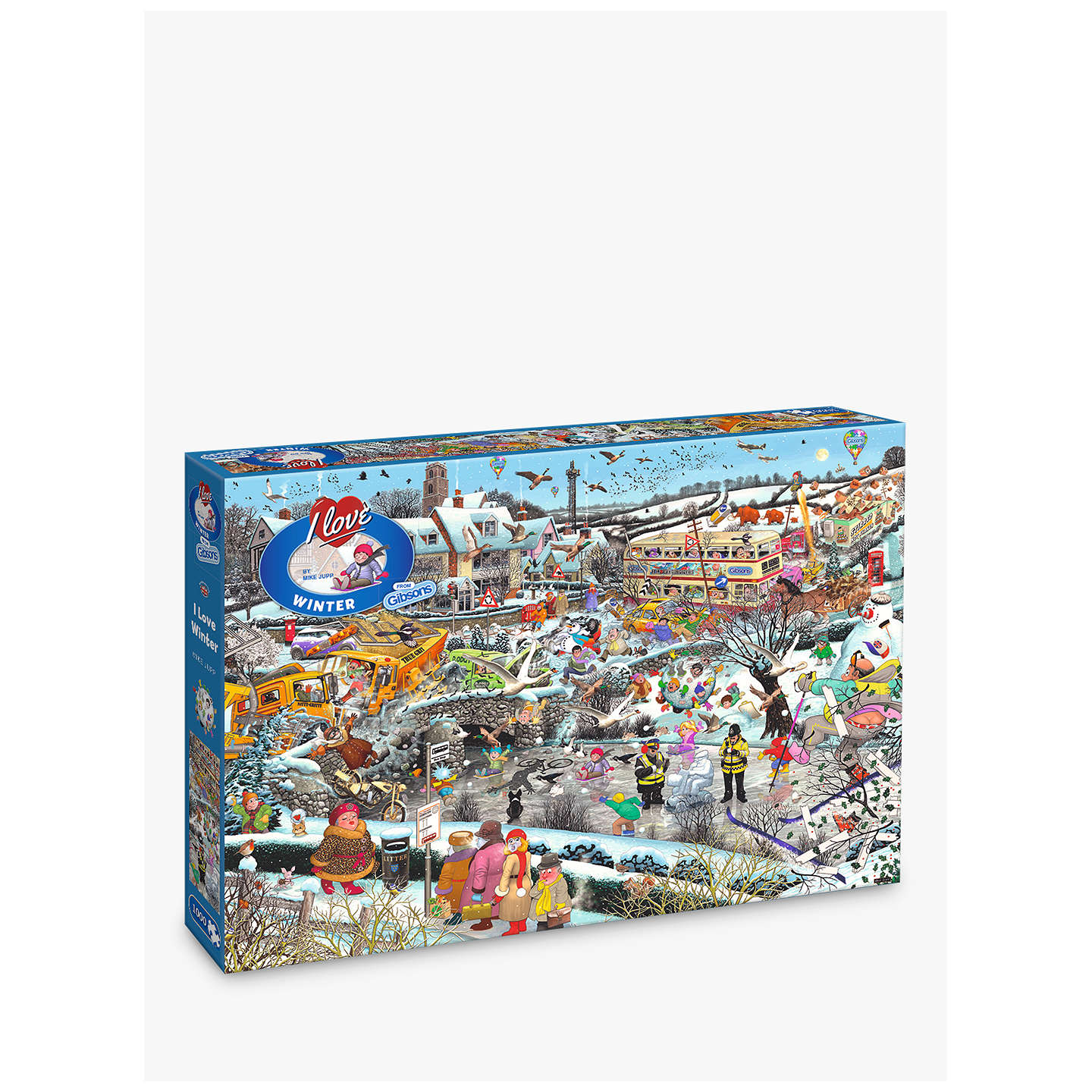 BuyGibsons I Love Winter Jigsaw Puzzle, 1000 Pieces Online at johnlewis.com