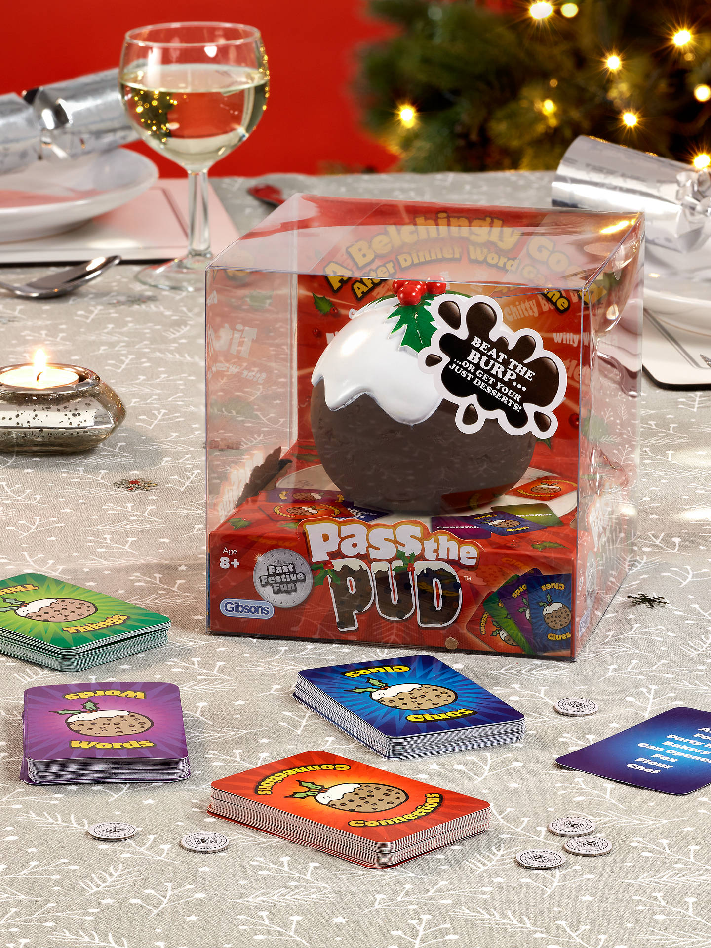 Buy Gibsons Pass the Pud Family Word Game Online at johnlewis.com
