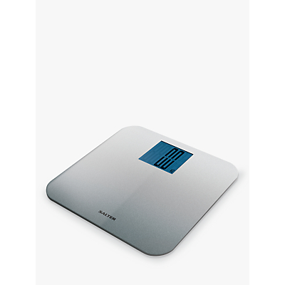 Salter Silver Glitter Digital Bathroom Scale
