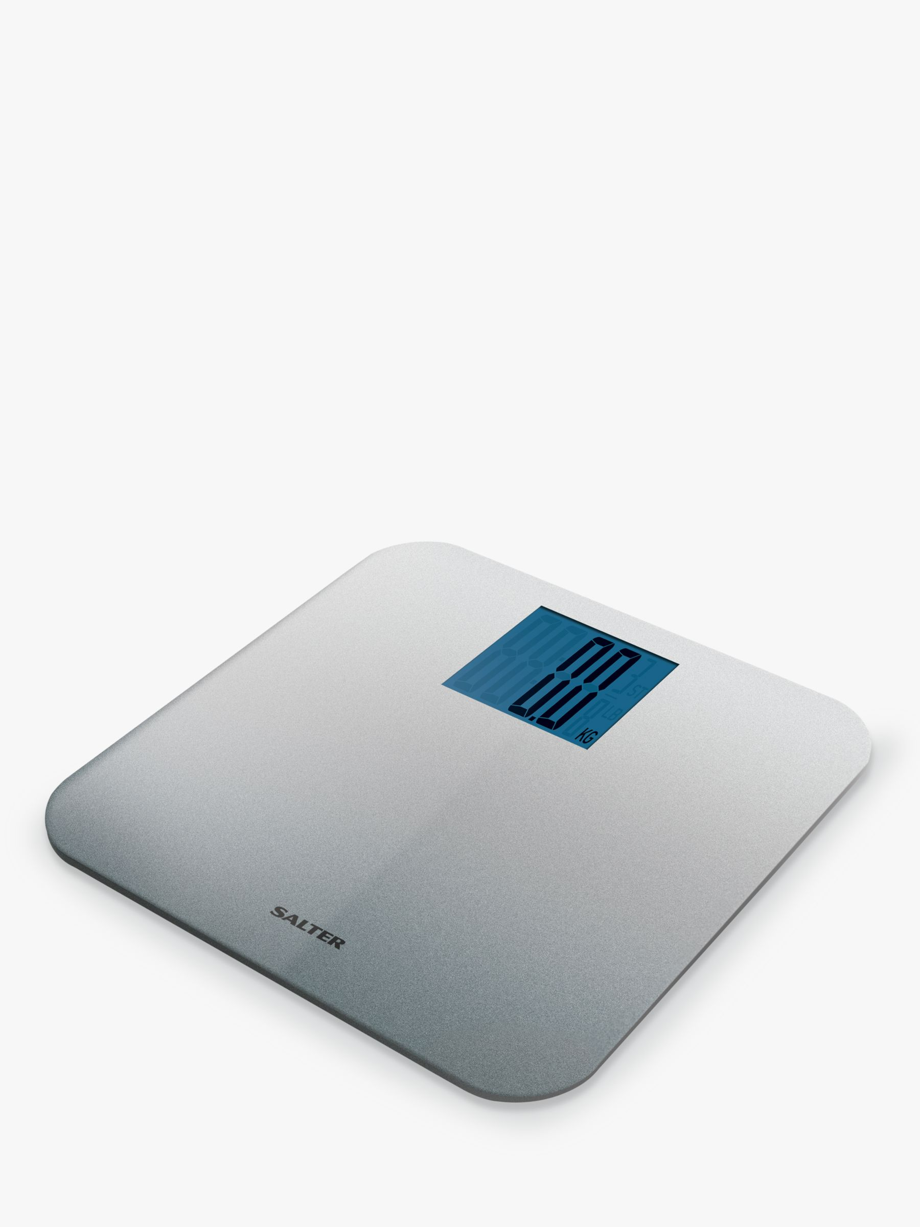 Salter Salter Silver Glitter Digital Bathroom Scale