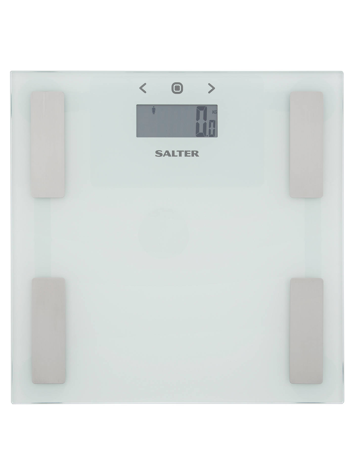 Salter 9150 Analyser Bathroom Scale White At John Lewis Partners