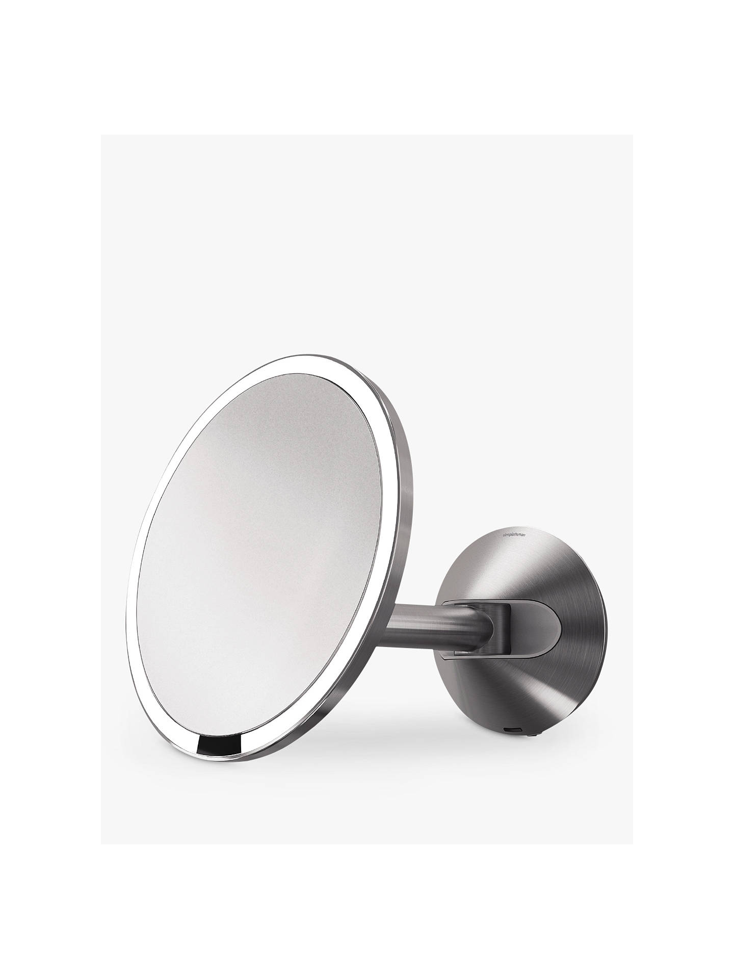 Simplehuman Wall Mounted Magnifying Sensor Mirror Battery