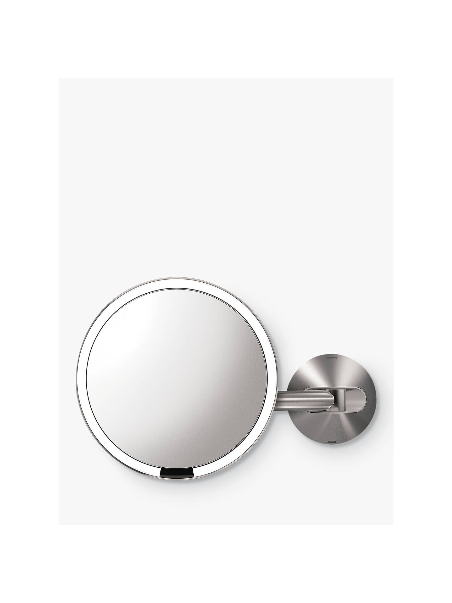 Buysimplehuman Mounted Magnifying Sensor Mirror, Battery Operated Online at johnlewis.com