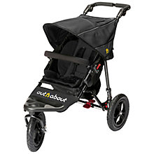 Buy Out 'N' About Nipper 360 Single V4 Pushchair, Black Online at johnlewis.com