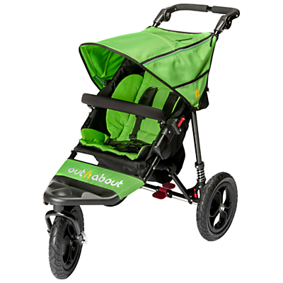 Out 'N' About Nipper 360 Single V4 Pushchair, Mojito
