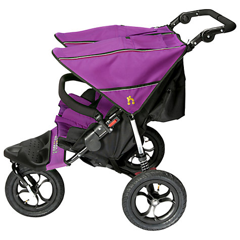 Buy Out 'N' About Nipper 360 Double V4 Pushchair, Purple Online at johnlewis.com