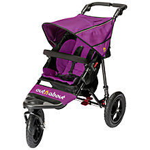 Buy Out 'N' About Nipper 360 Single V4 Pushchair, Purple Online at johnlewis.com