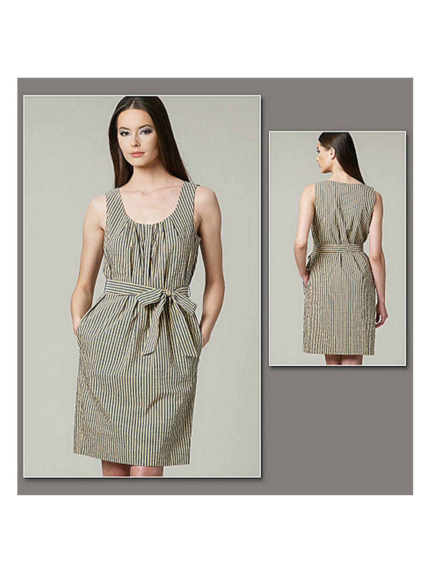 0c0f9ffb100 Buy Vogue DKNY Women s Dress Sewing Pattern