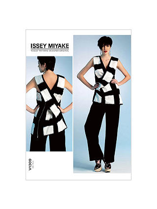 Vogue Women's Issey Miyake Tunic and Trousers Sewing Pattern