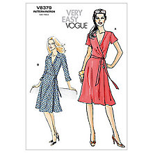 Buy Vogue Women's Dresses Sewing Pattern, 8379 Online at johnlewis.com
