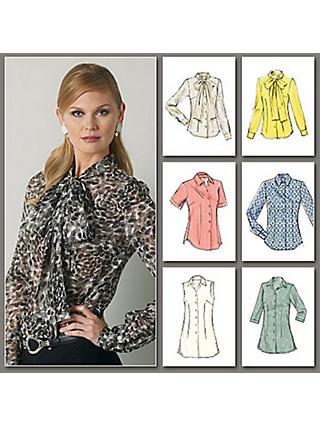 Vogue Women's Blouse Sewing Pattern, 8772
